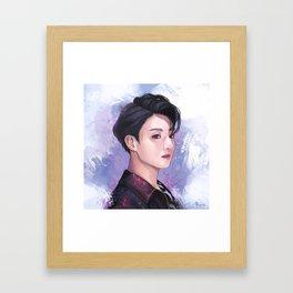 Fake Love Framed Art Print