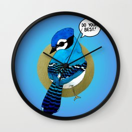 Do Your Best! Wall Clock