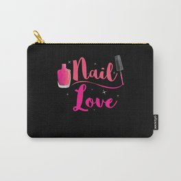 Nail Love Nail Studio Fingernails Carry-All Pouch