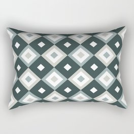 Bohemian Holiday Geometric 01B Rectangular Pillow