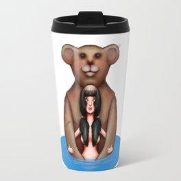 Teddy Bears are a girl's best friend. Travel Mug