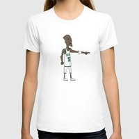 kevin russ T-shirts featuring Kevin Garnett by frappeboy