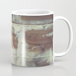 Repaired wooden shipboard Coffee Mug