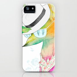 Rock the Floral iPhone Case