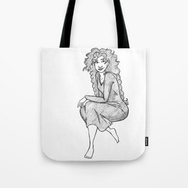 Lady Macbeth sketch Tote Bag