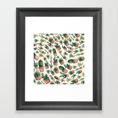 cactus big invasion!! Framed Art Print
