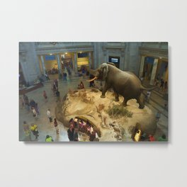 Visit to the Science Museum Metal Print