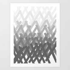 X marks the spot Art Print