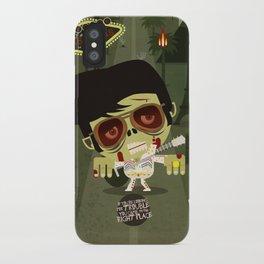 Elvis Zombie iPhone Case