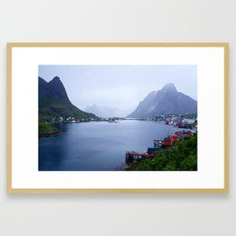 Welcome to Lofoten Framed Art Print