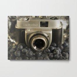Blueberry Beirette Metal Print