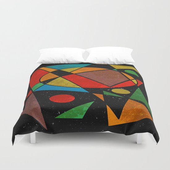 Abstract #341 Duvet Cover