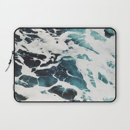 The Marbled Sea Laptop Sleeve