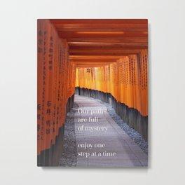 Path of mystery Metal Print