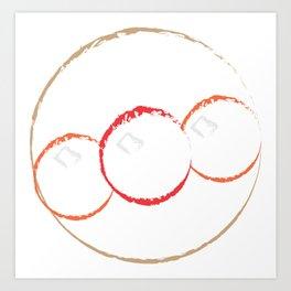 anpanman Art Print