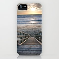 Steps to the Ocean iPhone (5, 5s) Slim Case