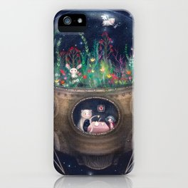 Space Home iPhone Case