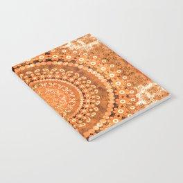 Boho Pumpkin Spice Mandala Notebook