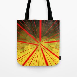 Yellow Complex Abstract Tote Bag