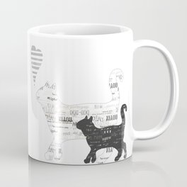 Black and white cats Coffee Mug