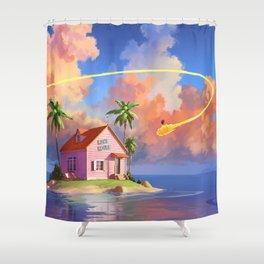 Kame House Shower Curtain