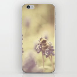 busy buzzy bumble bee ... iPhone Skin