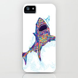 The Great White iPhone Case