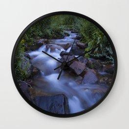 Rocky Mountain h2o Wall Clock