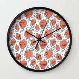 strawberrys Wall Clock