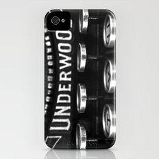 Vintage style no. 5 Slim Case iPhone (4, 4s)