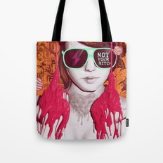 Not Your Bitch Tote Bag
