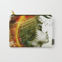 Afro Warrior Carry-All Pouch