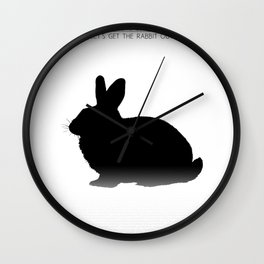 Let's get the rabbit out - Chicago Wall Clock