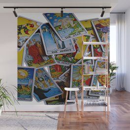What Do The Cards Hold For You? Wall Mural