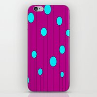 balloons iPhone & iPod Skins featuring Balloons  by JuniqueStudio