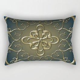 Golden Nemo Pattern Rectangular Pillow