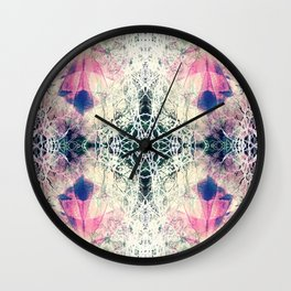 Formation Collection - In Bloom - Motif Wall Clock