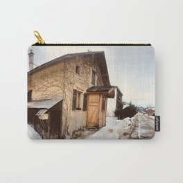 At home \\ Chamonix France Carry-All Pouch