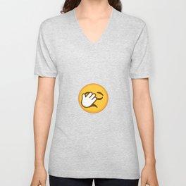 Facepalm Emoji Unisex V-Neck