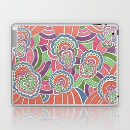 Drawing Meditation: Hearts Laptop & iPad Skin