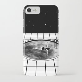 Pool Moon iPhone Case