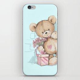 Teddy Boy iPhone Skin