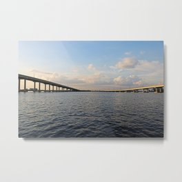 The Edison Bridge Metal Print