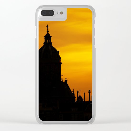 Cathedral Clear iPhone Case
