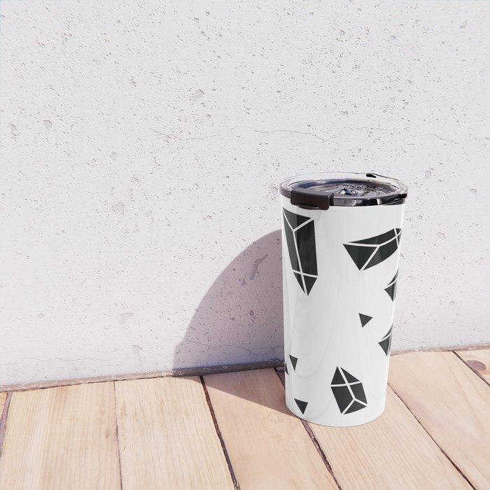 Black Crystals Travel Mug