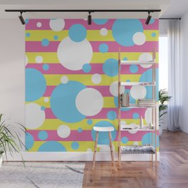 Party Confetti 4 Wall Mural