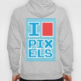 I Love Pixels Hoody