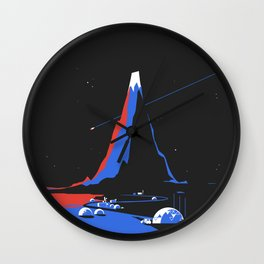 Asteroid Fly By Wall Clock