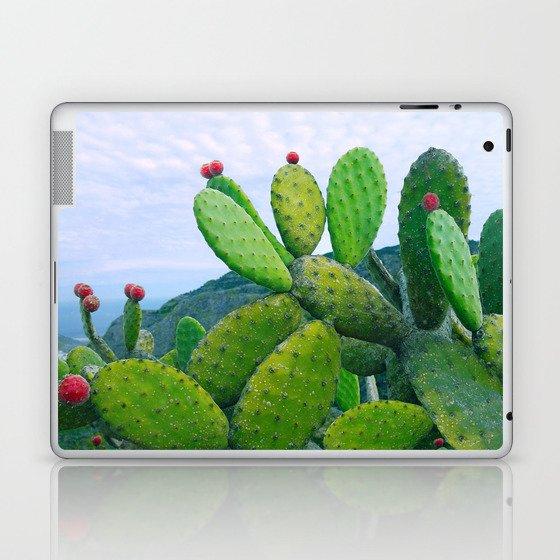 Blooming cacti Laptop & iPad Skin