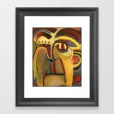 Medicine Mask II Framed Art Print